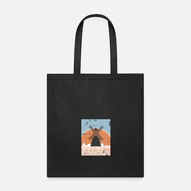 Holland Netherlands Windmill Gift Christmas Birthday - Tote Bag