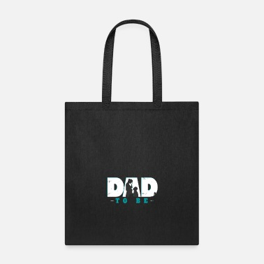 Pregnancy expectant father child future gift - Tote Bag
