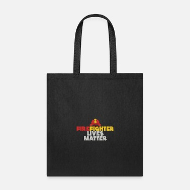 Fire Extinguisher Firefighter Lives Matter gift christmas fireman - Tote Bag