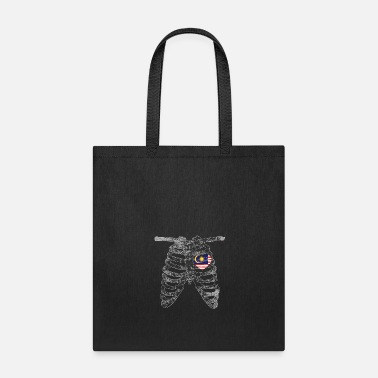 East Heart Belongs to Malaysia Nationality - Tote Bag