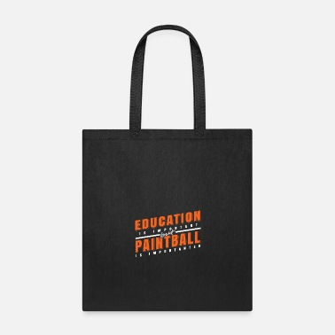 Gear Education and Paintball Important Gift Idea - Tote Bag