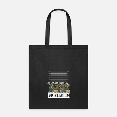 Police Funny Police Christmas Shirt Ugly Sweater Gift - Tote Bag