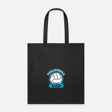 Volleyball Volleyball Gift Pride Papa - Tote Bag