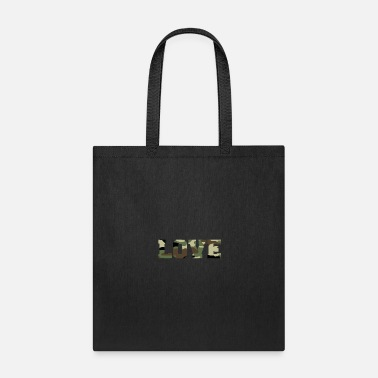 Camouflage Love T-shirt - Tote Bag