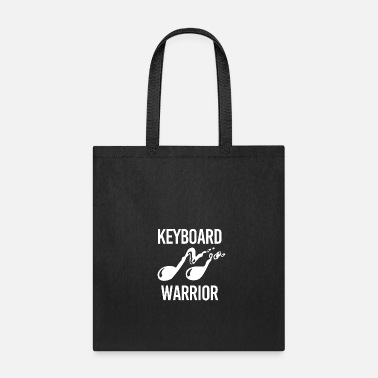Piano Keyboard Warrior Geschenk Klavier Piano - Tote Bag