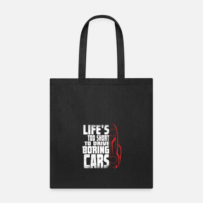 Funny Mechanic Car Lover Tee Shirt Guy Gift Tote Bag