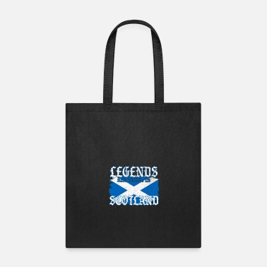 Bagpipes Legends Are Born In Scotland Gift - Tote Bag