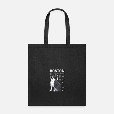 Alive Boston Terrier Dog Character Temperament Gift Cute - Tote Bag