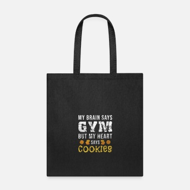 Cupcake Cookie Workout Bake Cookies Baking Gym Gift - Tote Bag