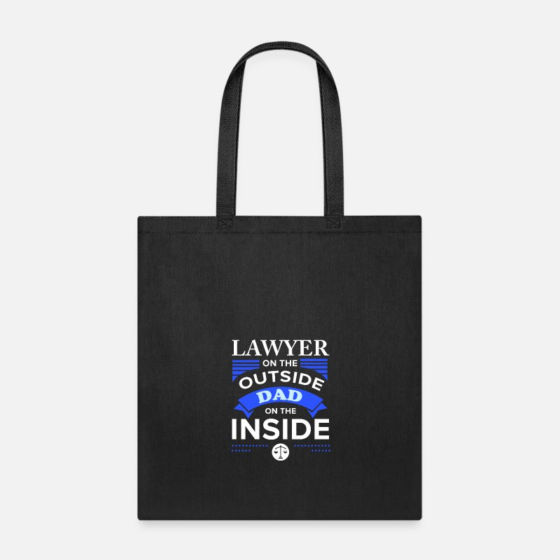 Lawyer Dad Law Student Attorney Advocate Gift Tote Bag