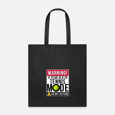 Mode 8 Year Old In Tennis Mode - Tote Bag