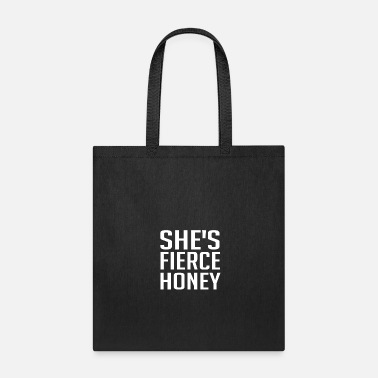 Crossfit She s Fierce Honey T Shirt Funny Queer Eye Gift - Tote Bag