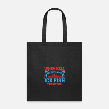 Norway Ice Fishing Fish North Fishing Gift - Tote Bag