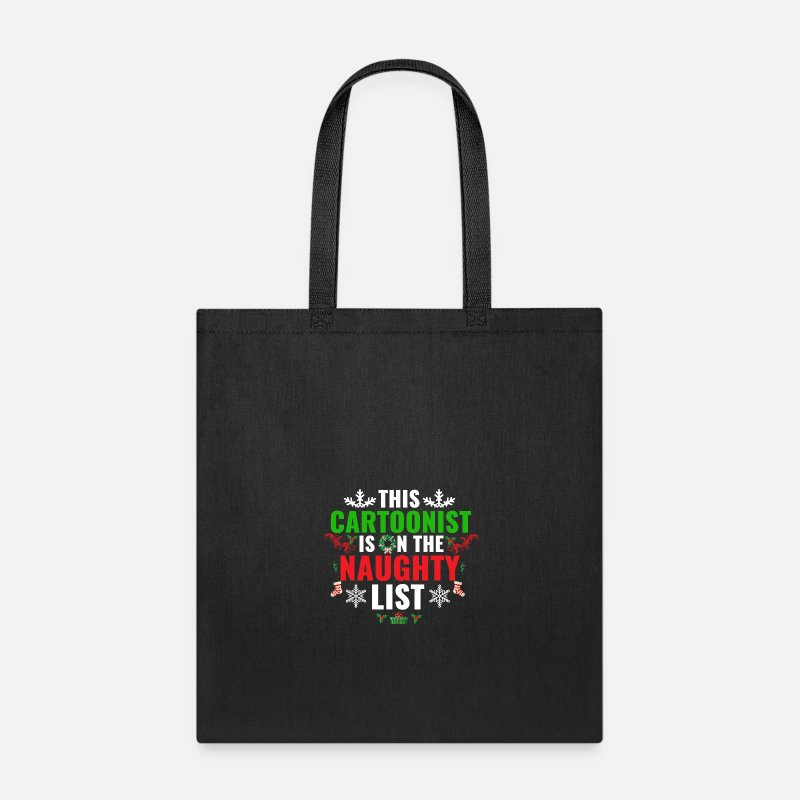 I Love Egg Nog Cotton Tote Bag