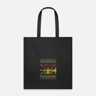 Scene Trumpet Player - Xmas Music Gift - Tote Bag