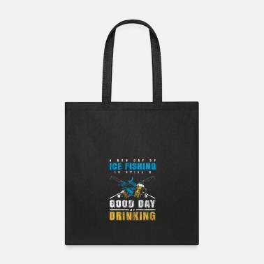 Fishing Rod ice Beer fishing - Tote Bag