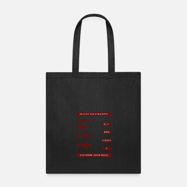 Titanic Developer weapon T-shirt - Tote Bag
