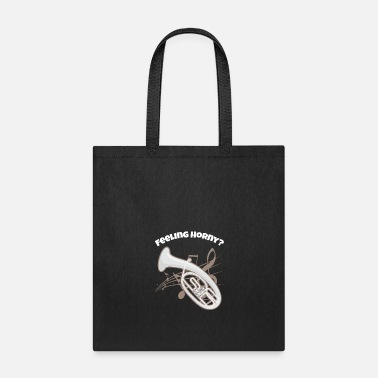 Brass Band Funny Baritone design Brass Horn Marching Band - Tote Bag