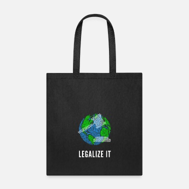 No Smoking Legalize It - Tote Bag
