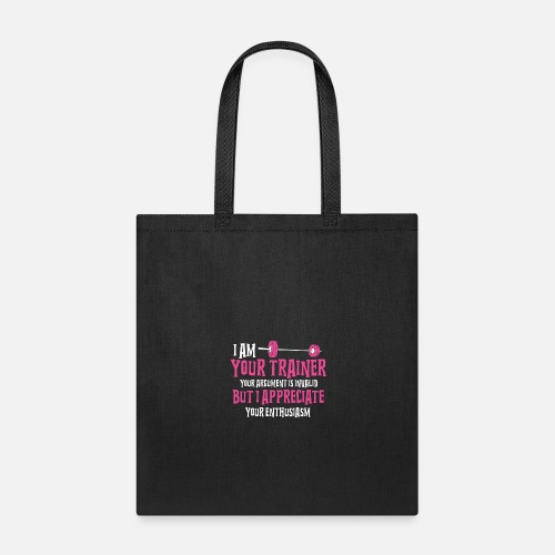 Tote BagPersonal Trainer Gifts