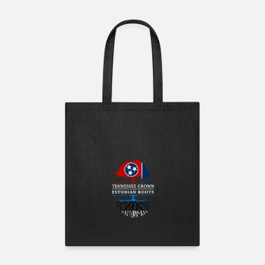 Nashville Tennessee Grown with Estonia Roots Estonia Design - Tote Bag