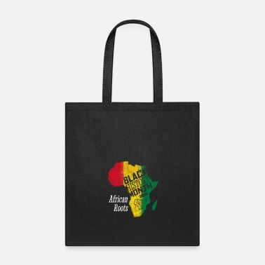 Afro Black History Month 2019 African Roots Gift - Tote Bag