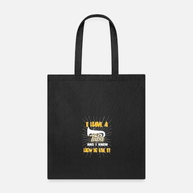 Infinity Tuba musician band orchestra gift idea - Tote Bag