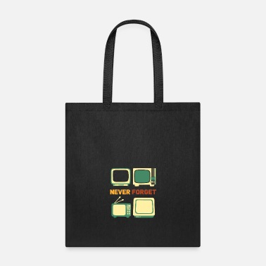 Console Never Forget Oldschool Items - Tote Bag