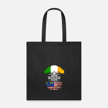 Irish Roots Irish Grown With Malaysian Roots - Tote Bag