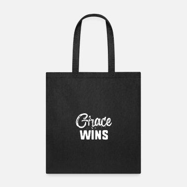 Be Yourself Grace Wins - Tote Bag