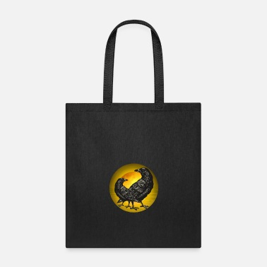 Crow Crows moon - Tote Bag