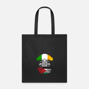 Irish Roots Irish Grown With Palestinian Roots - Tote Bag