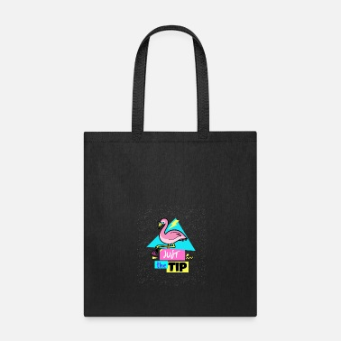 Just the Tip ( 90's Flamingo) - Tote Bag