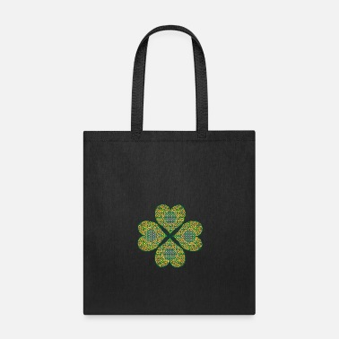 Lucky Charm Lucky Celtic Four Leaf Clover St Patricks Day - Tote Bag