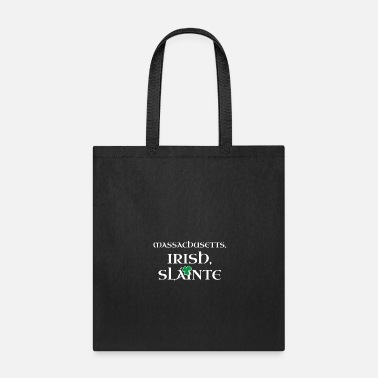 Irish Roots Massachusetts Irish Gift | St Patricks Day Gift - Tote Bag