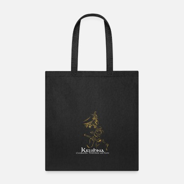 Pay Lord Krishna Design | Hinduism Gift for Believers - Tote Bag