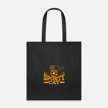 Sporty Sporty Cat - Tote Bag