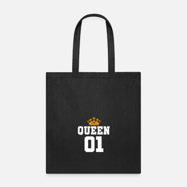 Kingdom Queen gift kingdom crown wife - Tote Bag