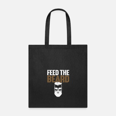 Manly Care For Beards - Feed The Beard - Tote Bag