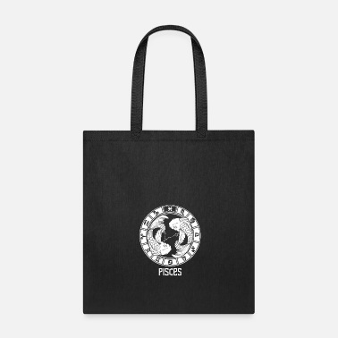 Constellation Pisces Zodiac Sign - February March Birthday Gift - Tote Bag