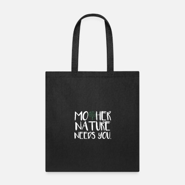 Hipster Mother Nature - Tote Bag