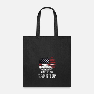 World Funny Military Meme USA Patriotic Tank Quote Gift - Tote Bag