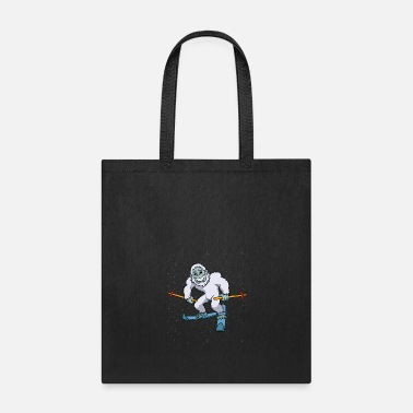 Aspen Snowboarder Yeti Snowboarding Winter Bigfoot Gift - Tote Bag