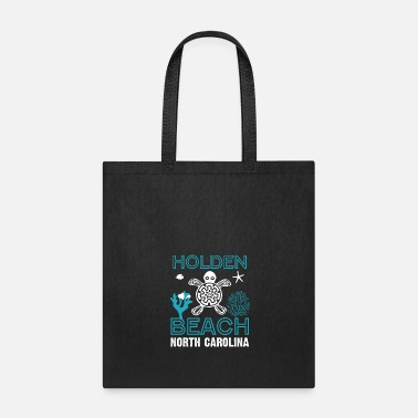 North Sea Sea Turtles Beach North Carolina - Tote Bag