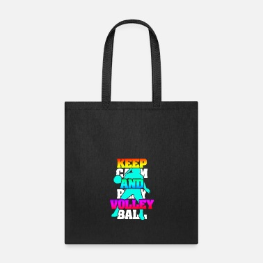 Volley Keep Calm And Play Volleyball - Tote Bag