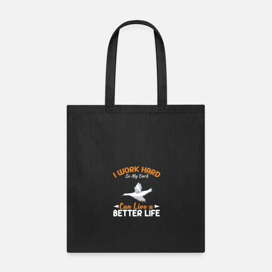 Gift Idea Bags & Backpacks - Duck - Tote Bag black