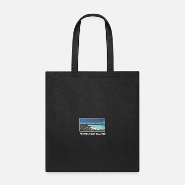 Foreign Whitsunday Islands City Skyline Art Sights - Tote Bag