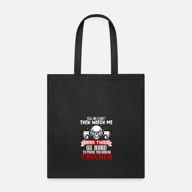 Tattooing funny Truck Trucker - Tote Bag
