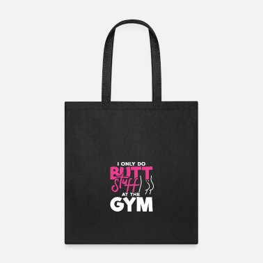 Personal Trainer Squat Butt Squats Gym Girl Fitness Workout Gift - Tote Bag