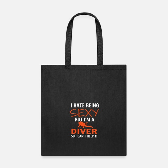 Diving Gift Bags & backpacks - Diving - Tote Bag black